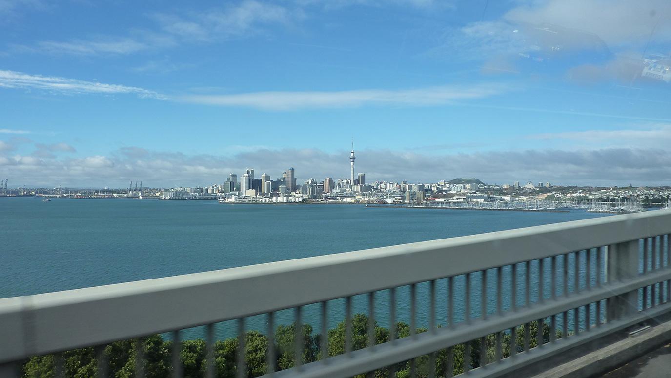 Auckland - Paseo de bienvenida
