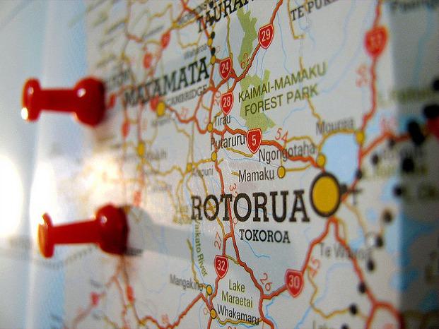 Mapa de Rotorua