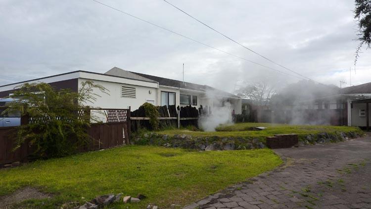 Casa maorí en Rotorua