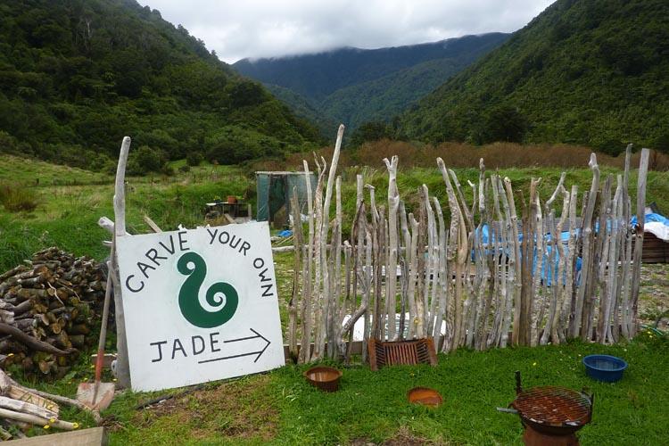 Tallar jade Nueva Zelanda