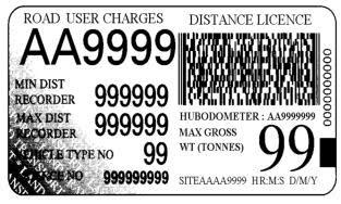 RUC, road user charges de Nueva Zelanda