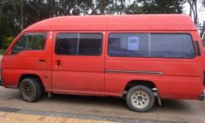 Venta furgoneta Nueva Zelanda – Nissan Caravan 1989