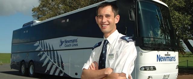 Newmans, compañía de autobús de Nueva Zelanda