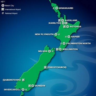 Mapa rugby Nueva Zelanda