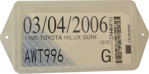 Papel de licensing en Nueva Zelanda, también conocido como registration