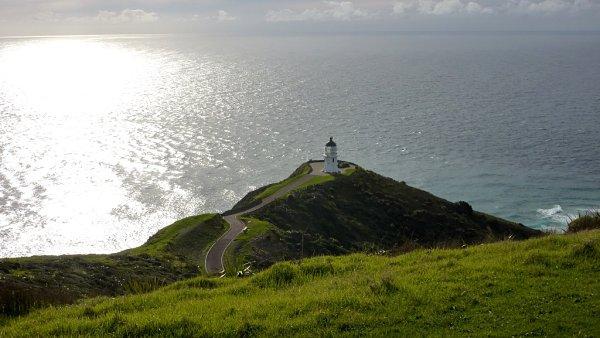 Desde Cape Reinga se tienen las mejores vistas del Mar de Tasmania