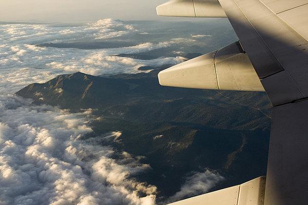 En los vuelos largos apenas hay turbulencias