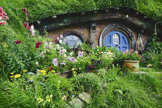 La belleza de Hobbiton no sería la misma si no estuviera en plena naturaleza