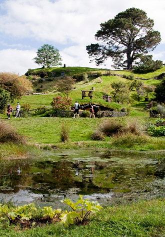 Matamata se ha convertido en un reclamo turístico de primera clase en Nueva Zelanda