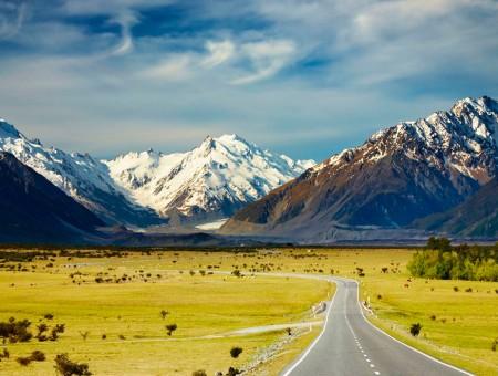Calculador de distancias en carretera Nueva Zelanda