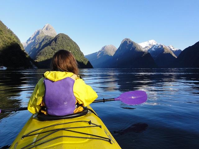 kayak-milford-sound-viaje-nueva-zelanda-comoserunkiwi
