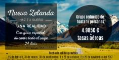 Viaje a Nueva Zelanda con guía español