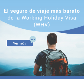 Seguro de viaje Working Holiday