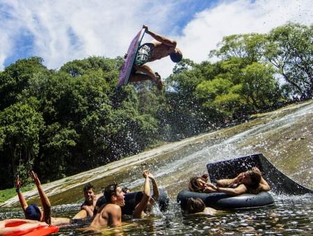 El tobogán de agua natural más grande del mundo