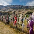 Valla de sujetadores de Cardrona en Otago