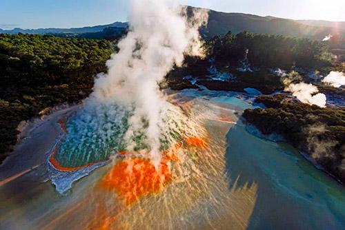 Tour a Waiotapu desde Rotorua