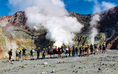Tour a la isla White de Nueva Zelanda