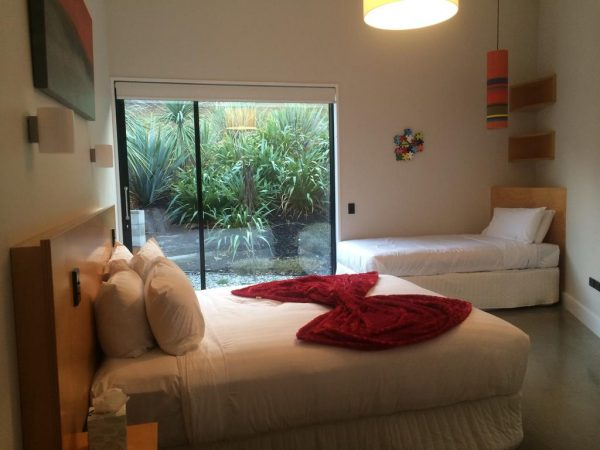 Habitación del Bed and breakfast Dublin en Queenstown