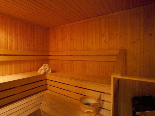 Sauna del hotel Central Ridge de Queenstown