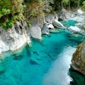 Blue Pools y su piscina natural de azul turquesa