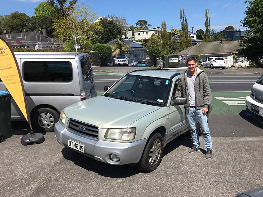 Comprando un coche en Nueva Zelanda